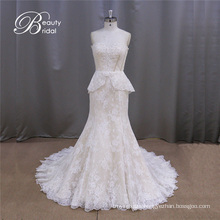 Alibaba Vintage Lace Mermaid Bridal Gowns